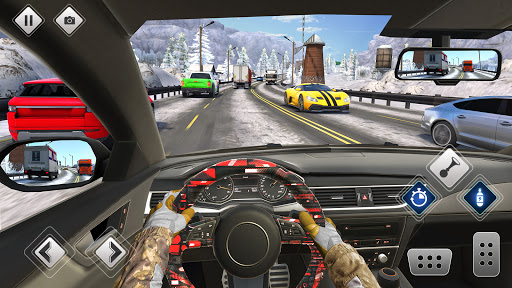 Highway Driving Car Racing Game screenshot 2