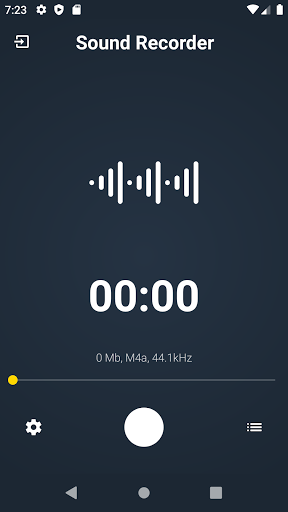 Sound Recorder for every one screenshot 1