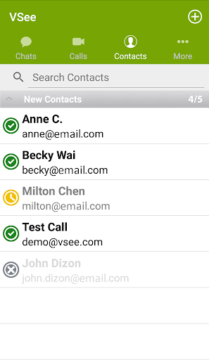 VSee Messenger screenshot 1