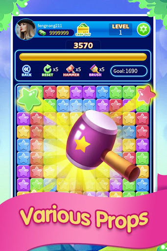 Magical Popstar -crush star game screenshot 2