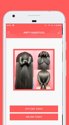 Party Hairstyle screenshot 1