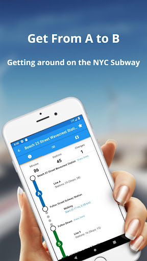 New York Subway - MTA map and routes screenshot 16
