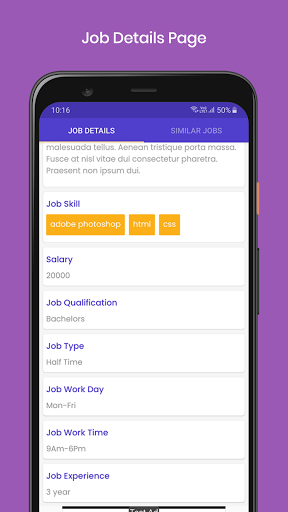 My New Jobs screenshot 6