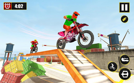 New Bike Stunts Game: Impossible Bike Stunts screenshot 21