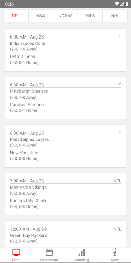 NFL Live Streaming And More screenshot 1