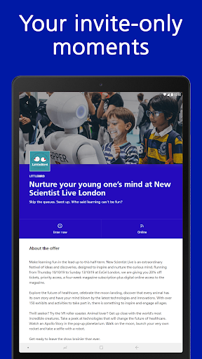 Discount Tickets, Spa Vouchers & more: O2 Priority screenshot 16