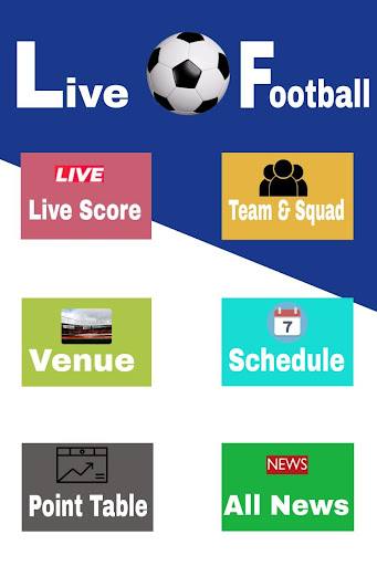 Live Football App screenshot 1