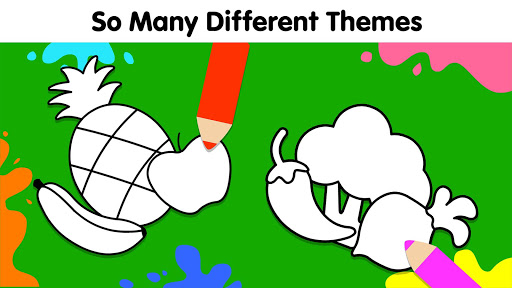 Coloring Games for Kids: Baby Drawing Book & Pages screenshot 4