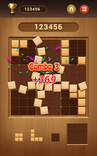 Wood Block Sudoku Game -Classic Free Brain Puzzle screenshot 20