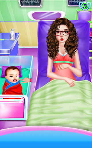 Newborn Care Game Pregnant games Mommy in Hospital screenshot 14