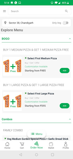 La Pino'z Order Online Pizza screenshot 3