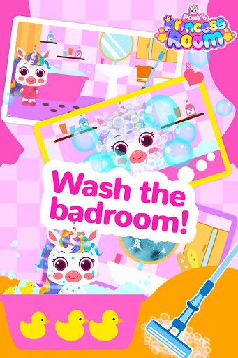 Pony Princess Room-Baby House Cleanup For Girls screenshot 4