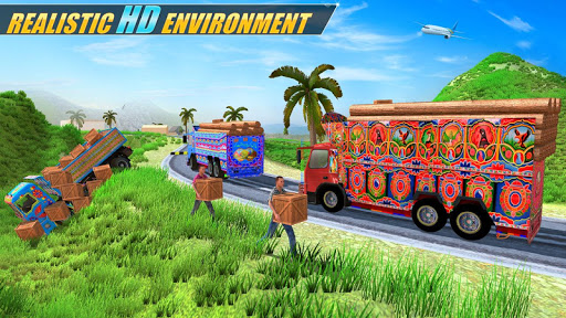Indian Real Cargo Truck Driver -New Truck Games 21 screenshot 4