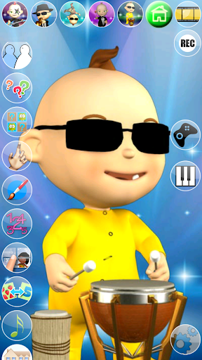 My Talking Baby Music Star screenshot 6