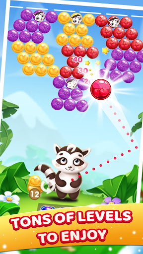 Raccoon Bubbles screenshot 2
