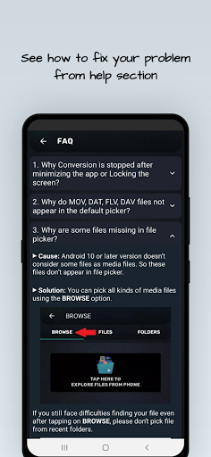 MP4, MP3 Video Audio Cutter, Trimmer & Converter screenshot 8