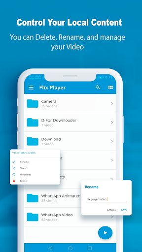 FlixPlayer for Android screenshot 2