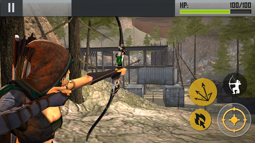 Ninja Archer Assassin FPS Shooter screenshot 2