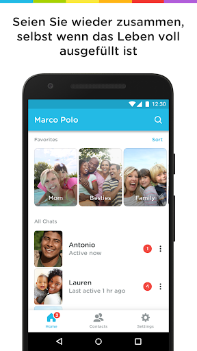 Marco Polo - Video Chat for Busy People Bildschirmfoto 1