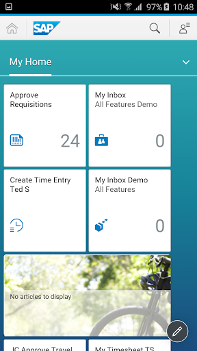 SAP Fiori Client screenshot 2