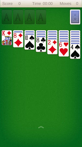 Solitaire card game 屏幕截图 1