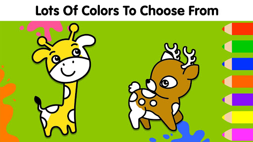 Coloring Games for Kids: Baby Drawing Book & Pages screenshot 2