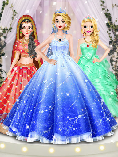 Fashion Wedding Dress Up Designer screenshot 7