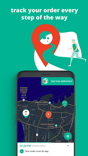 Toters:Food Delivery & More screenshot 5