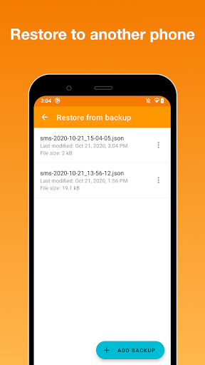 SMS Backup screenshot 5