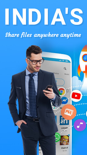 SHARE it with anyone, File Transfer by screenshot 1