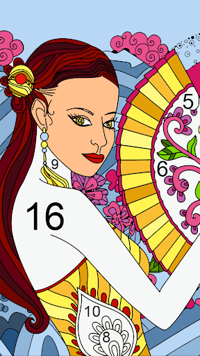 Color by number - color by number for adults screenshot 8