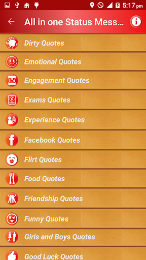 All Status Messages & Quotes 屏幕截图 3