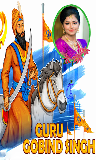 Guru Gobind SIngh Photo Frame 屏幕截图 7