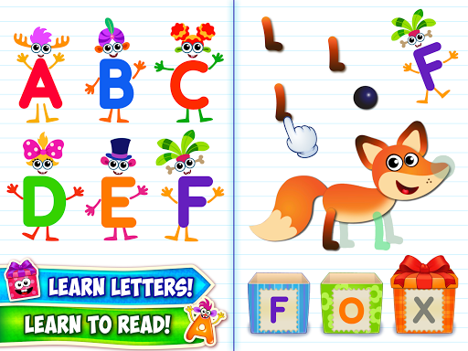 Baby ABC in box Kids alphabet games for toddlers screenshot 8