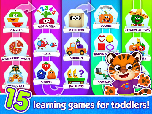 Funny Food educational games for kids toddlers 屏幕截图 11