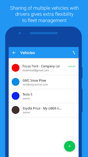 Automatic GPS Vehicle Tracker for Businesses screenshot 3