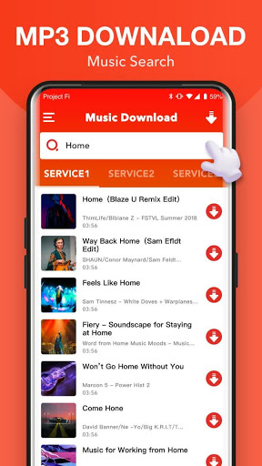 Free Music Download + Mp3 Music Downloader screenshot 1