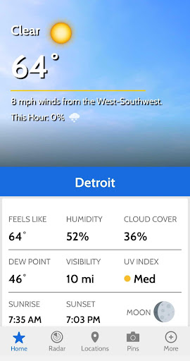 WDIV Local4Casters Weather screenshot 2