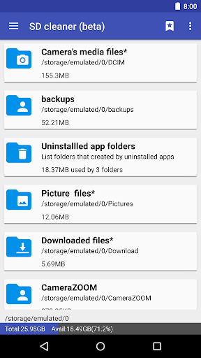1Tap Cleaner (clear cache, and history log) screenshot 3