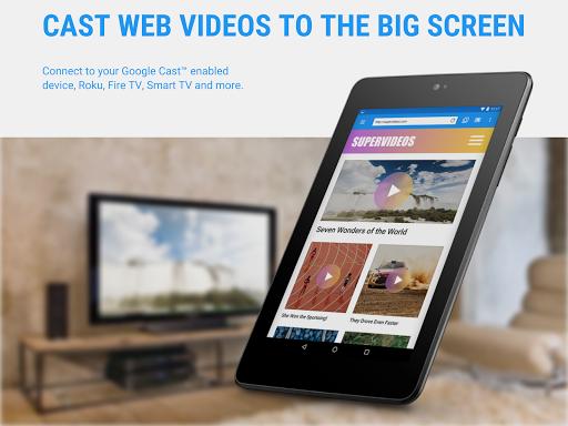 Web Video Cast | Browser to TV/Chromecast/Roku/+ screenshot 2