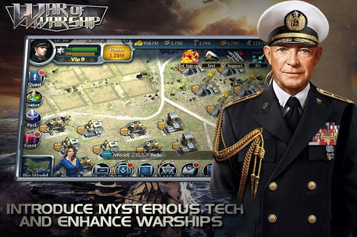 War of Warship screenshot 1