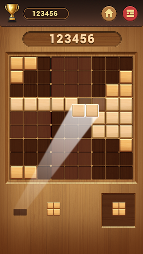 Wood Block Sudoku Game -Classic Free Brain Puzzle screenshot 1