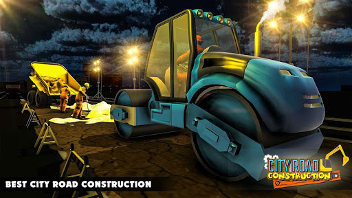 Mega City Road Construction Machine Operator Game screenshot 16