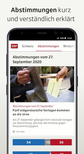 SRF News - Nachrichten, Videos und Livestreams screenshot 7