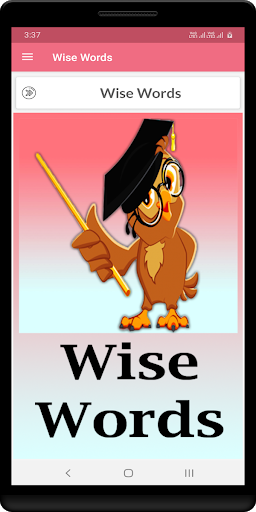 Wise Words captura de pantalla 1