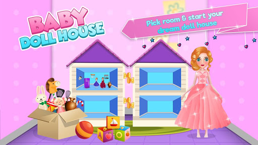 Baby doll house decoration game | New Toy sets screenshot 1