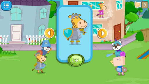 Games about knights for kids screenshot 23