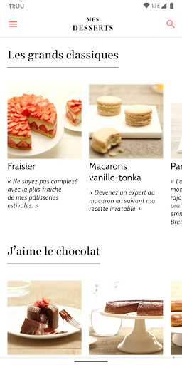 Cyril Lignac: Mes Desserts screenshot 1