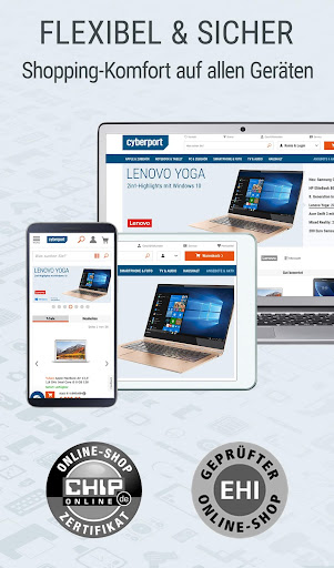 CYBERPORT Elektronik, Technik & Deals Shopping App screenshot 10