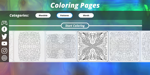 Coloring Pages [Adults] screenshot 9